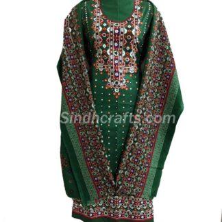 chunri print dress