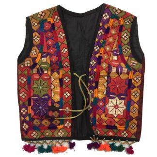 embroidered kids kotis