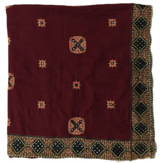 embroidered ladies shawl