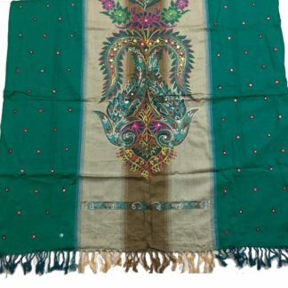 embroidered mirror chadar