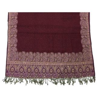 ladies embroidered shawl