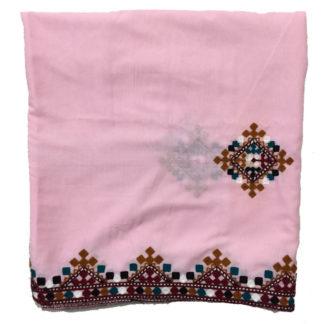ladies pink shawl