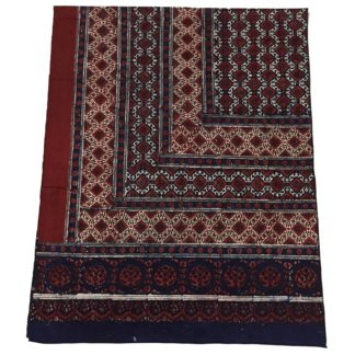 block print sindhi shawl