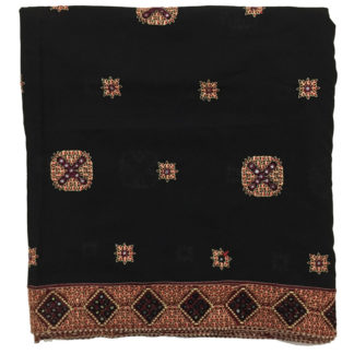 embroidered women shawl