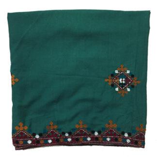 ladies green shawl