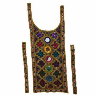 pakistani embroidered neck