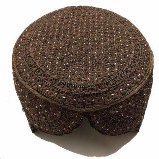 sindhi topi brown