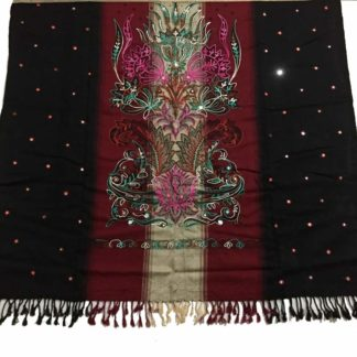 winter embroidered chadar
