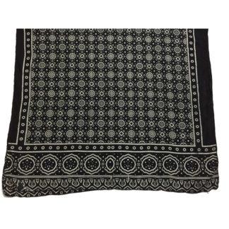 black shawl ajrak