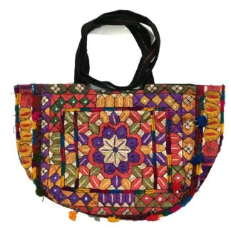 cultural embroidered handbag