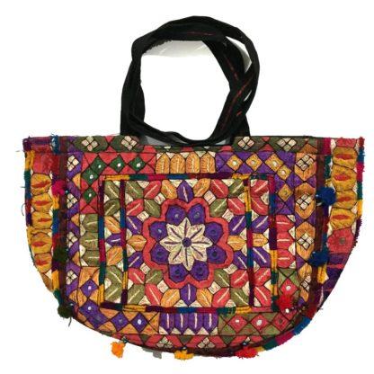 cultural embroidered handbag