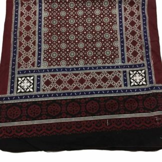red blue ajrak
