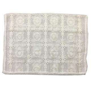 white tissue dupatta