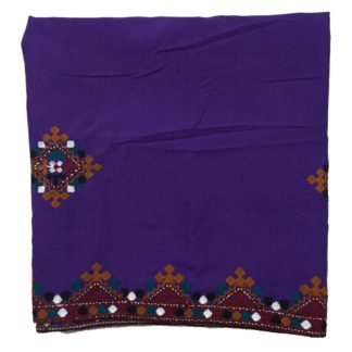 sindhi purple shawl