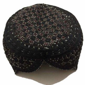 sindhi topi black