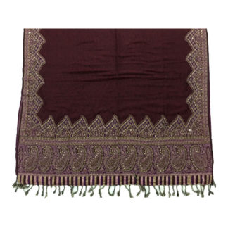 women embroidered shawl