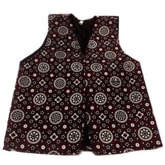 ajrak waistcoat for kids