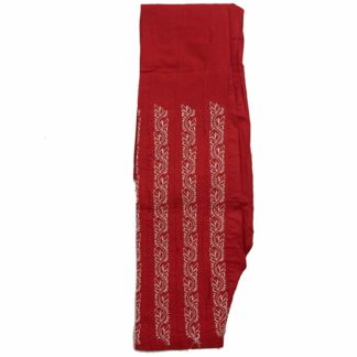 red embroidery shalwar