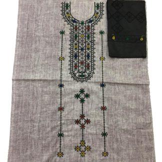 sindhi embroidered dress
