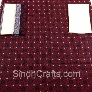 ajrak cotton suit