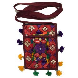 handmade shoulder purse