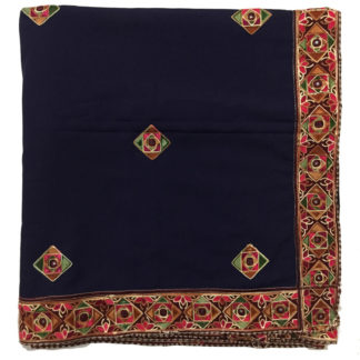 ladies embroidered shawl