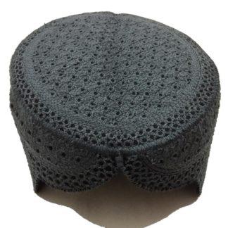 grey sindhi topi