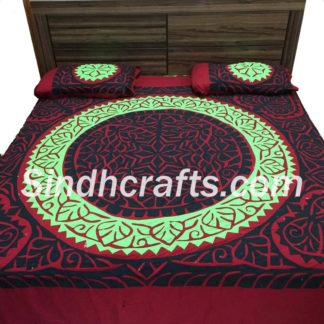 applique bedsheet