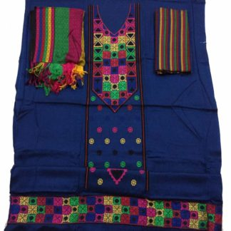 colorful embroiderey suit