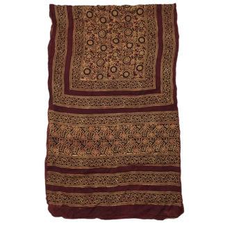 traditional silk ajrak