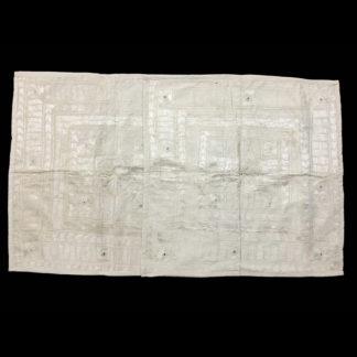 white floor cushion cover