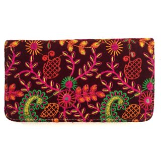 women embroidery wallet