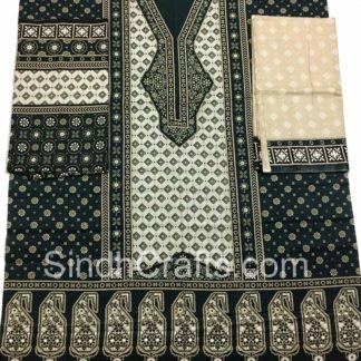 Pakistan ajrak dress