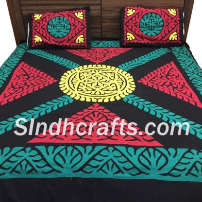 applic handmade bedsheet
