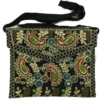 embroidered work bag