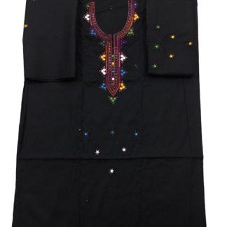 sindhi black dress