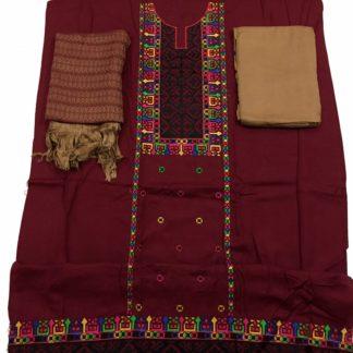 winter traditional dress