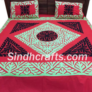 applique bedsheet