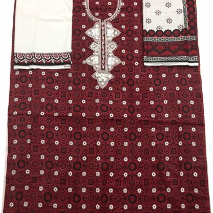 ajrak suit for women