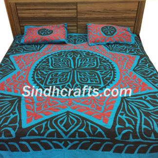 applique design bedsheet