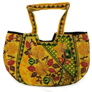 colorful embroidery bag