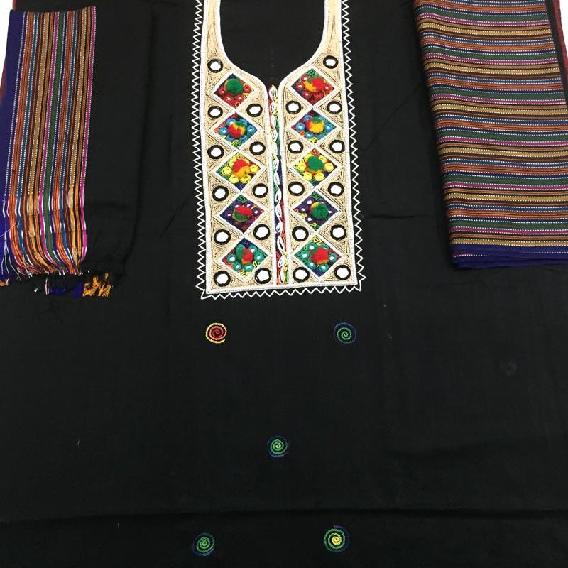 Sindhi Hand Embroidery Mirror Work Susi Dress For Women Buy Online