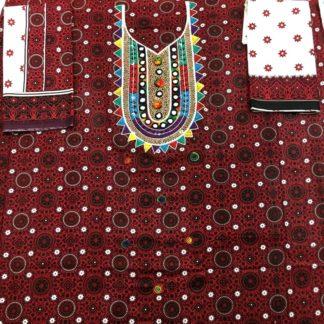 sindhi handmade suit