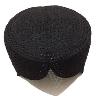 black sindhi topi