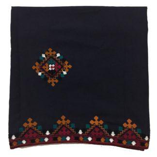 black sindhi chadar