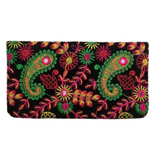 embroidered ladies wallet