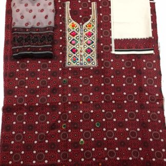 women ajrak suit