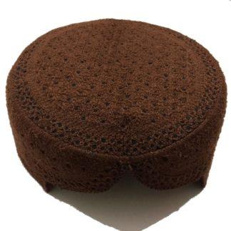 brown sindhi topi