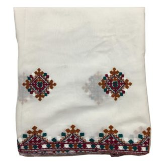 sindhi white shawl