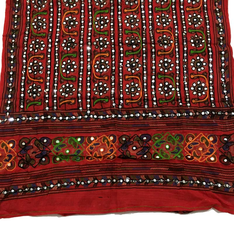 Fancy Embroidered Dupatta in Multicolor color. Buy online ...